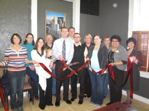 Ribbon Cutting for First Wealth Financial Group
