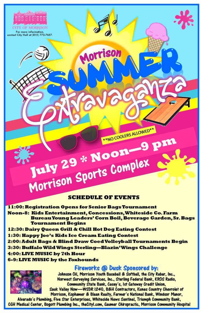 Summer Extravaganza Poster 2017