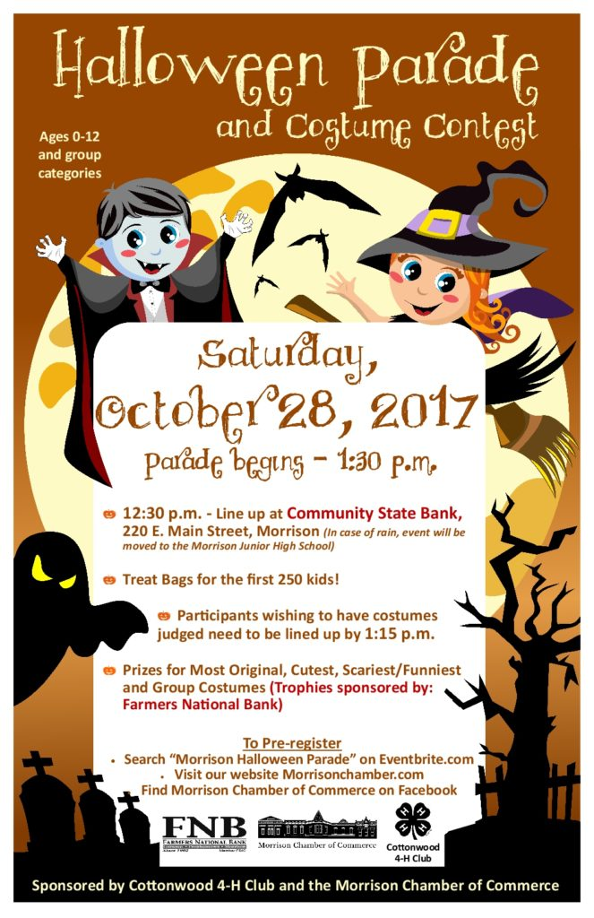 Halloween Parade 2017 Poster